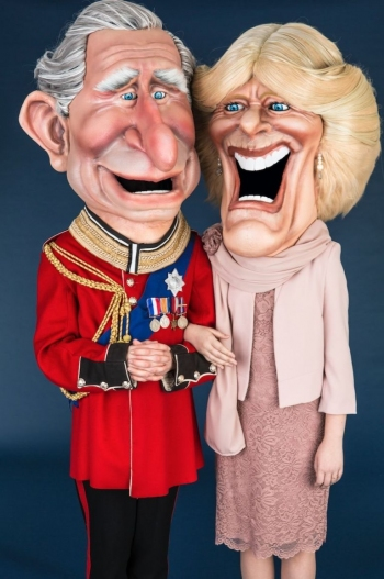 Caricature design for ITV's Big Heads