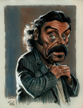 Ian McShane in Deadwood