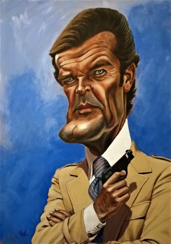 Roger Moore as 007